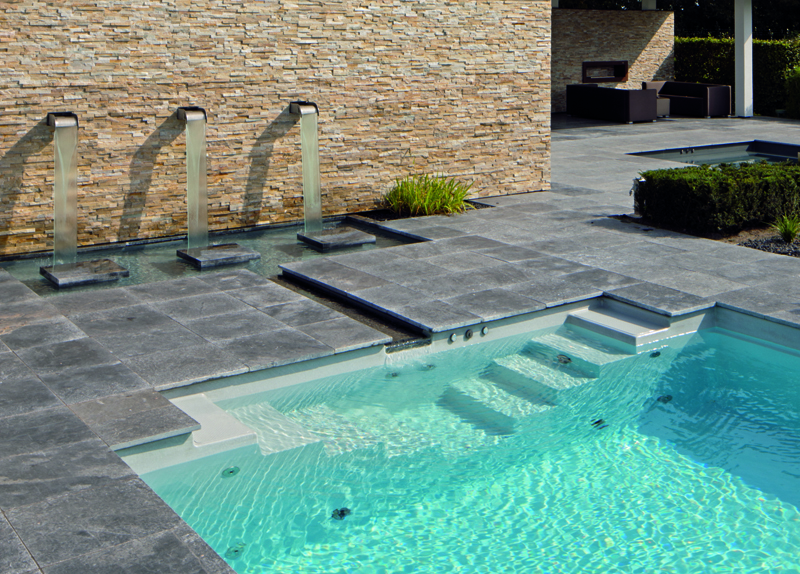 klassische filterung zinsser poolbau. Black Bedroom Furniture Sets. Home Design Ideas
