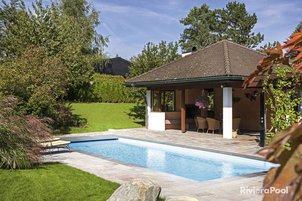 Ancona und twin zinsser poolbau for Gartenpool 1 20