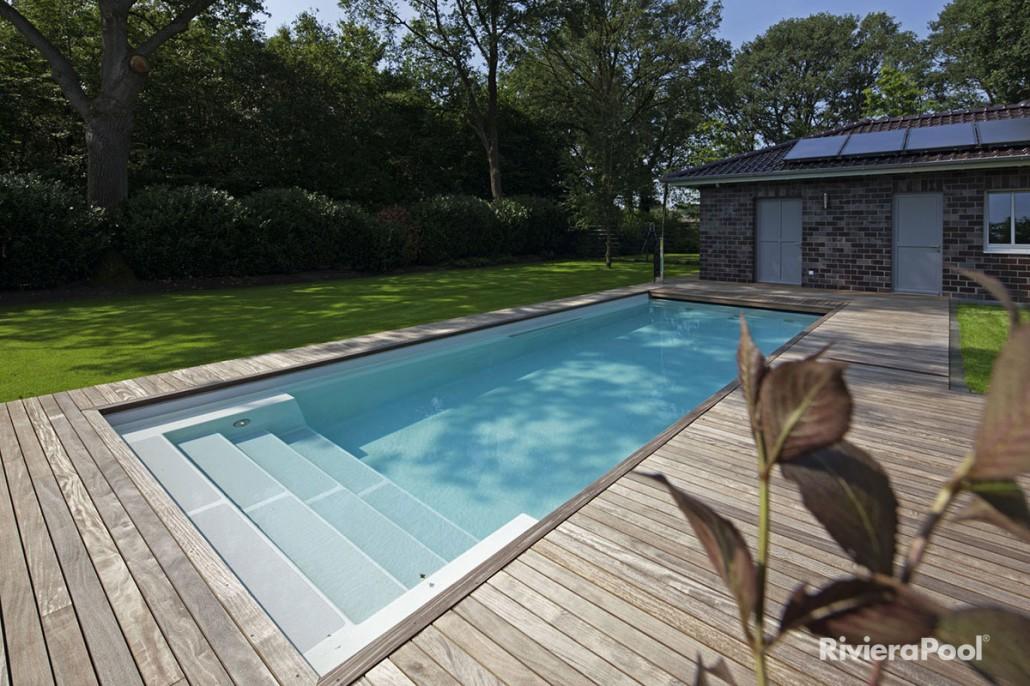 d line linear und kara zinsser poolbau. Black Bedroom Furniture Sets. Home Design Ideas