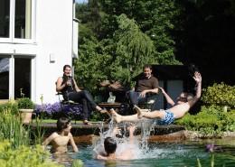Schwimmteich in Munster